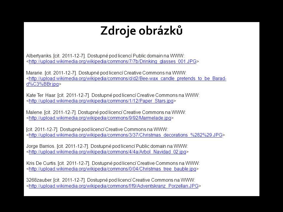 Zdroje obrázků Albertyanks. [cit. 2011-12-7].