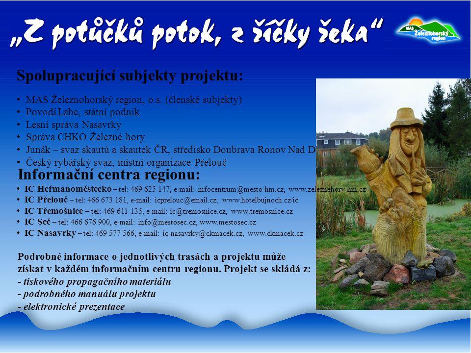 Spolupracující subjekty projektu: MAS Železnohorský region, o.s.