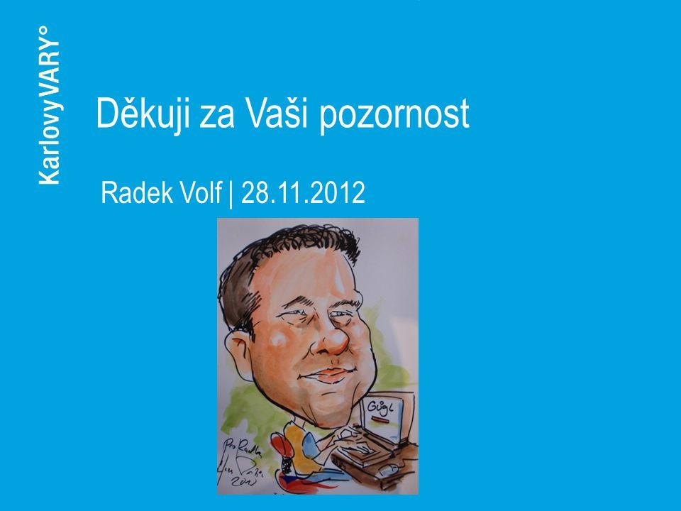 Děkuji za Vaši pozornost Radek Volf | 28.11.2012
