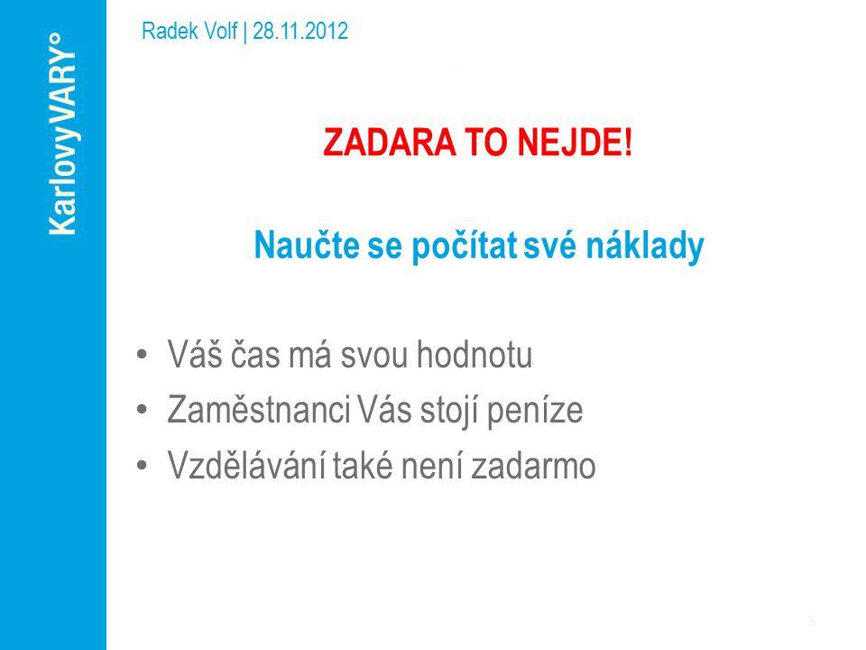 Bezplatné prezentace na internetu Radek Volf | 28.11.2012