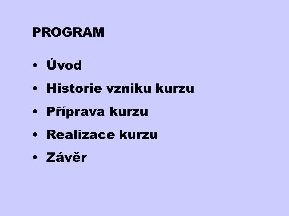 Realizace kurzu------------------------------------------------------------------------ Na VŠB-TU Ostrava – 68 účastníků Časový plán: únor 2002 - první týdenní tutoriál - vstupní dotazník - nacvičování pedagogických dovedností - zadání úkolů