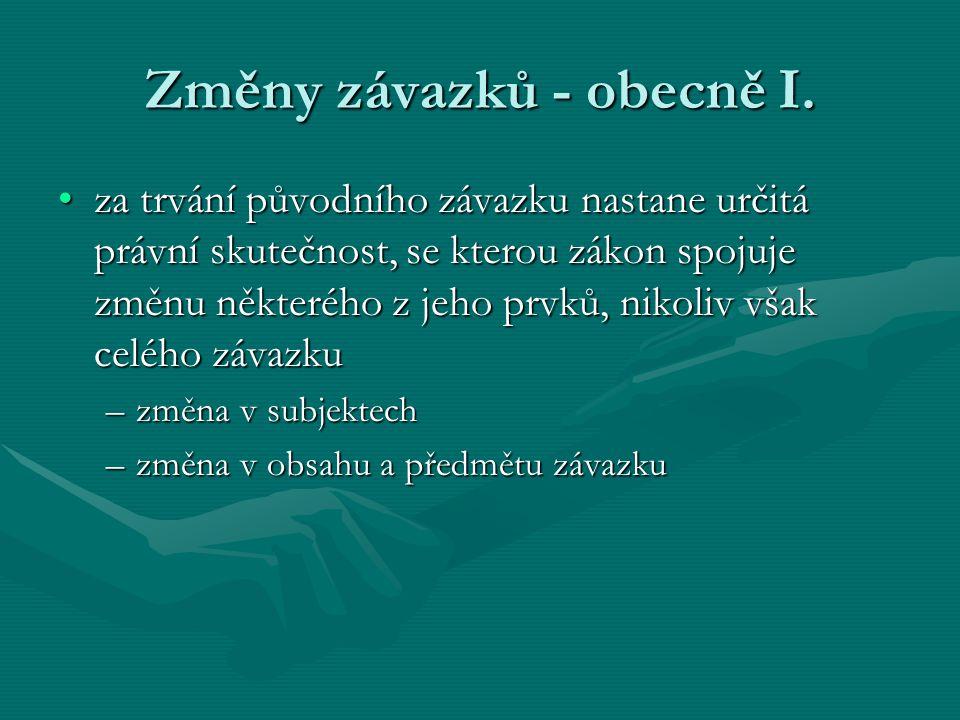 Smluvní pokuta II.