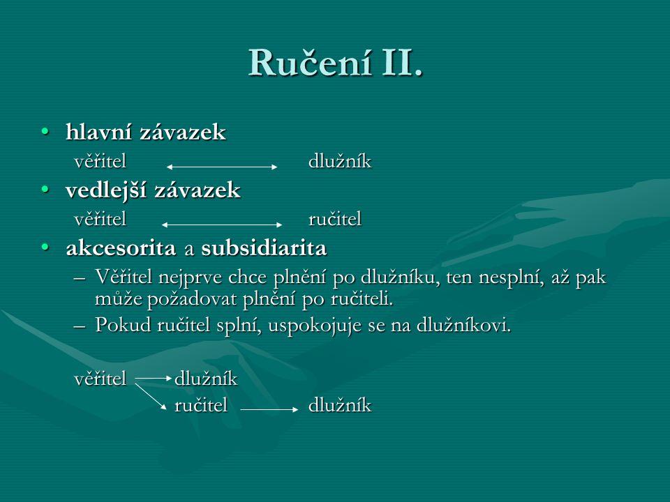 Ručení II.