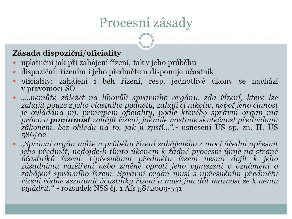 Příslušnost správních orgánů Funkční příslušnost /§ 130/ (u veřejnopr.