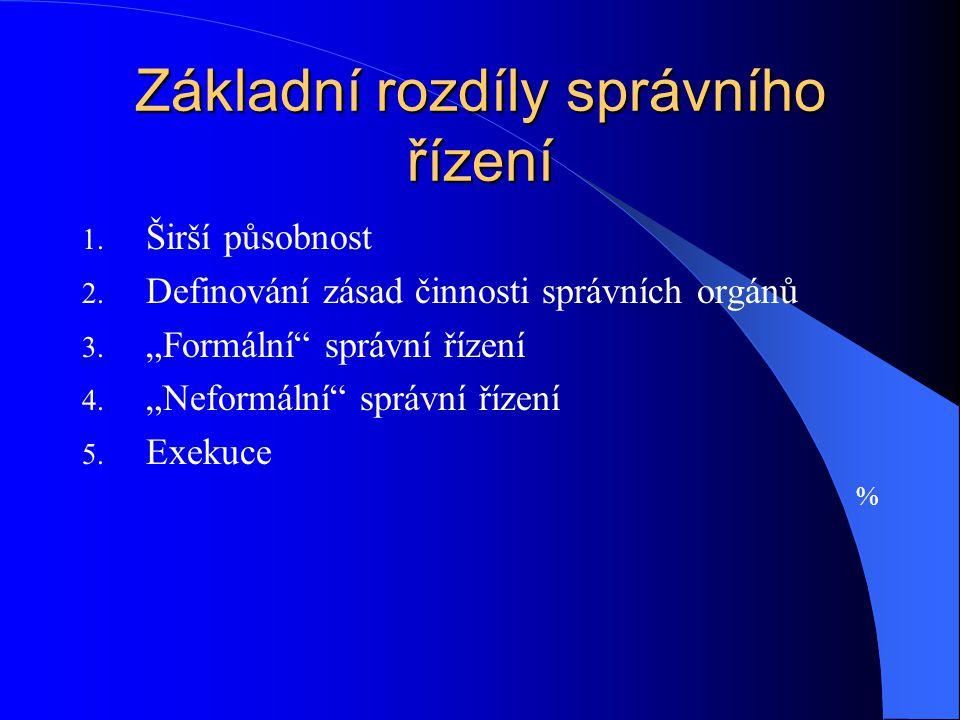 Vedení řízení a úkony správních orgánů 4.
