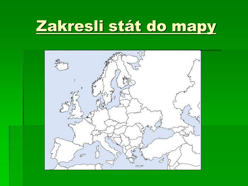 Zakresli stát do mapy