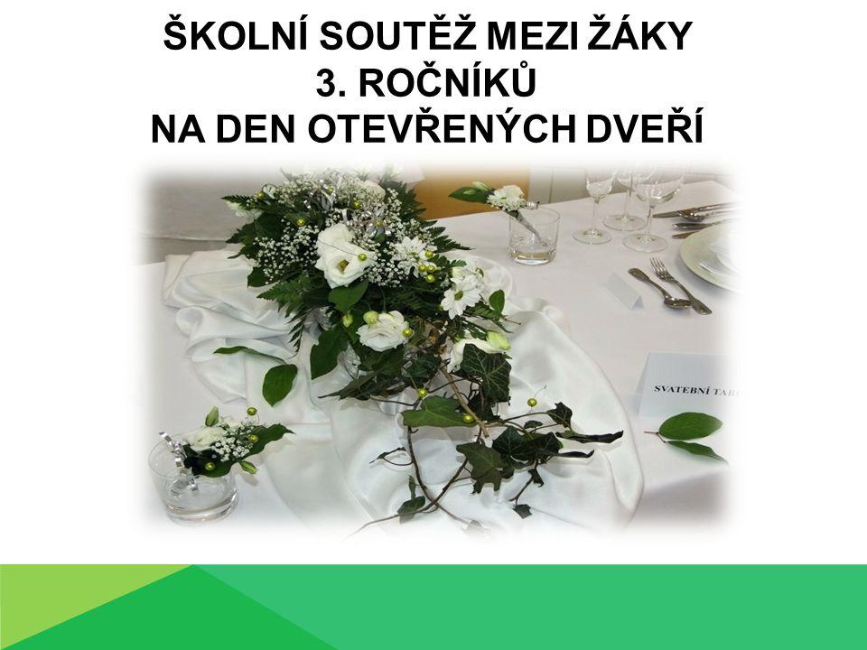 ŠKOLNÍ SOUTĚŽ MEZI ŽÁKY 3. ROČNÍKŮ NA DEN OTEVŘENÝCH DVEŘÍ