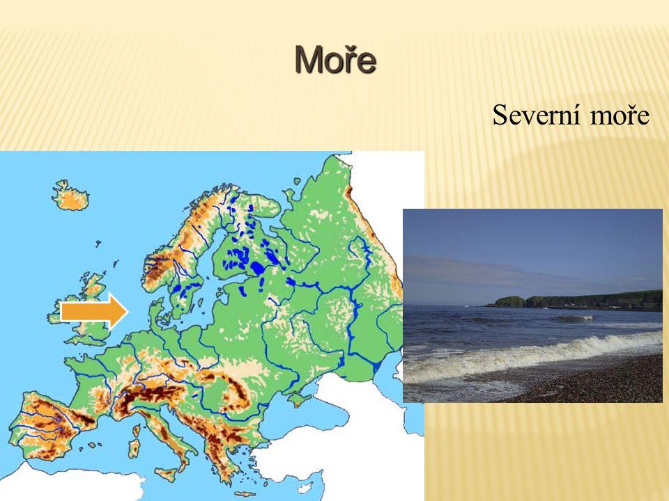 Zálivy a průlivy Lamanšský průliv