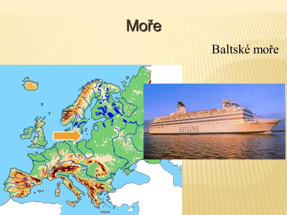 Moře Středozemní moře