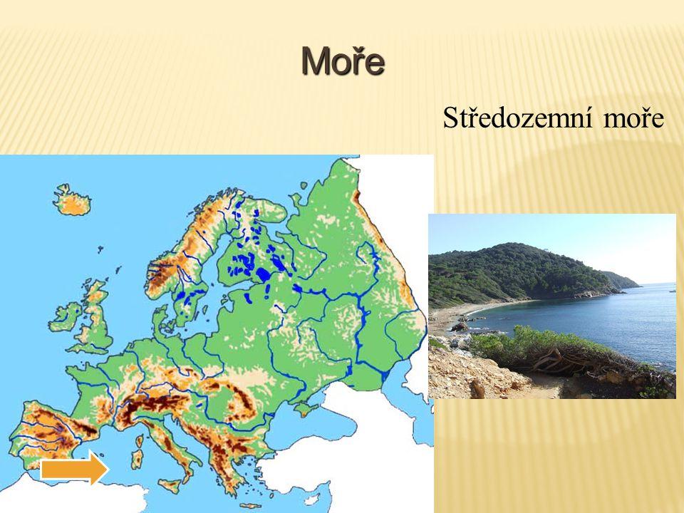 Evropa – vodstvo (znovu vyhledávej) Oceány: Severní ledový oceán Atlantický oceán Moře: Barentsovo moře Bílé moře Baltské moře Norské moře Severní moře Středozemní moře Černé moře Kaspické moře Egejské moře Jaderské moře Jónské moře Tyrhénské moře Zálivy: Botnický záliv Biskajský záliv Průlivy: Lamanšský průliv Gibraltarský průliv