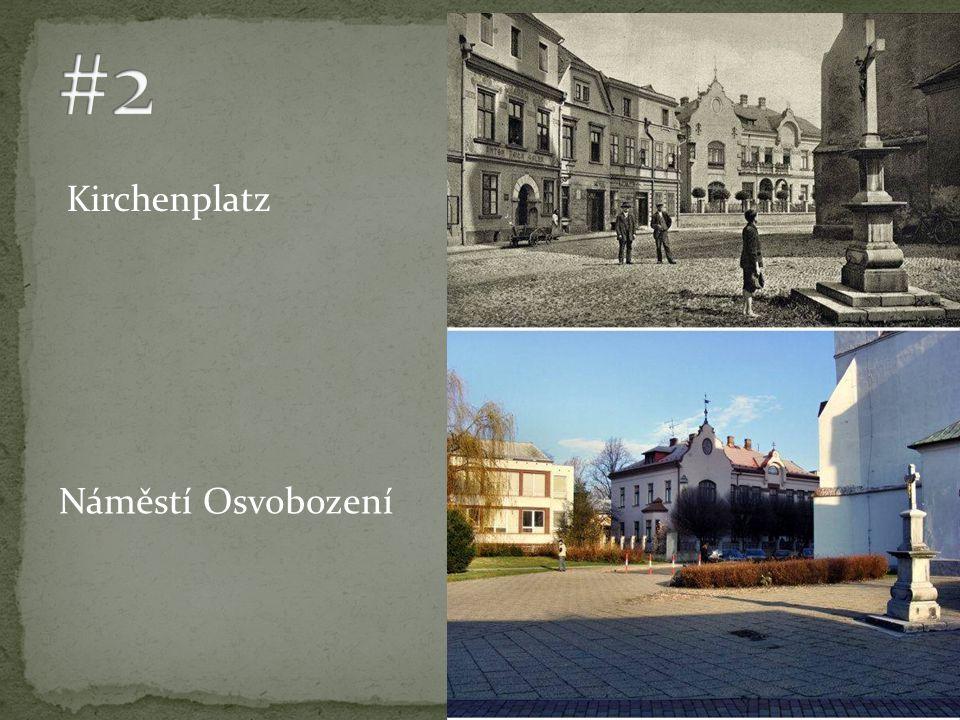 Kirchenplatz Náměstí Osvobození