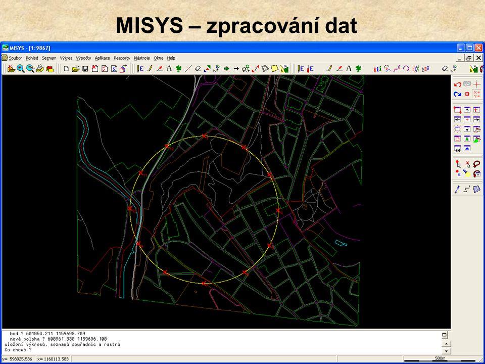 MISYS – zpracování dat