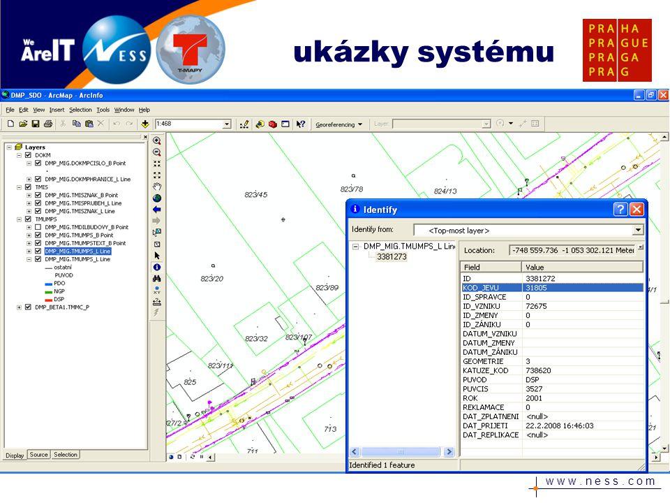 w w w. n e s s. c o m ukázky systému