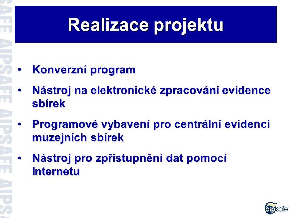 Realizátor projektu Slovenské národné múzeum Oddelenie informatiky a centrálnej evidencieOddelenie informatiky a centrálnej evidencie Mgr.