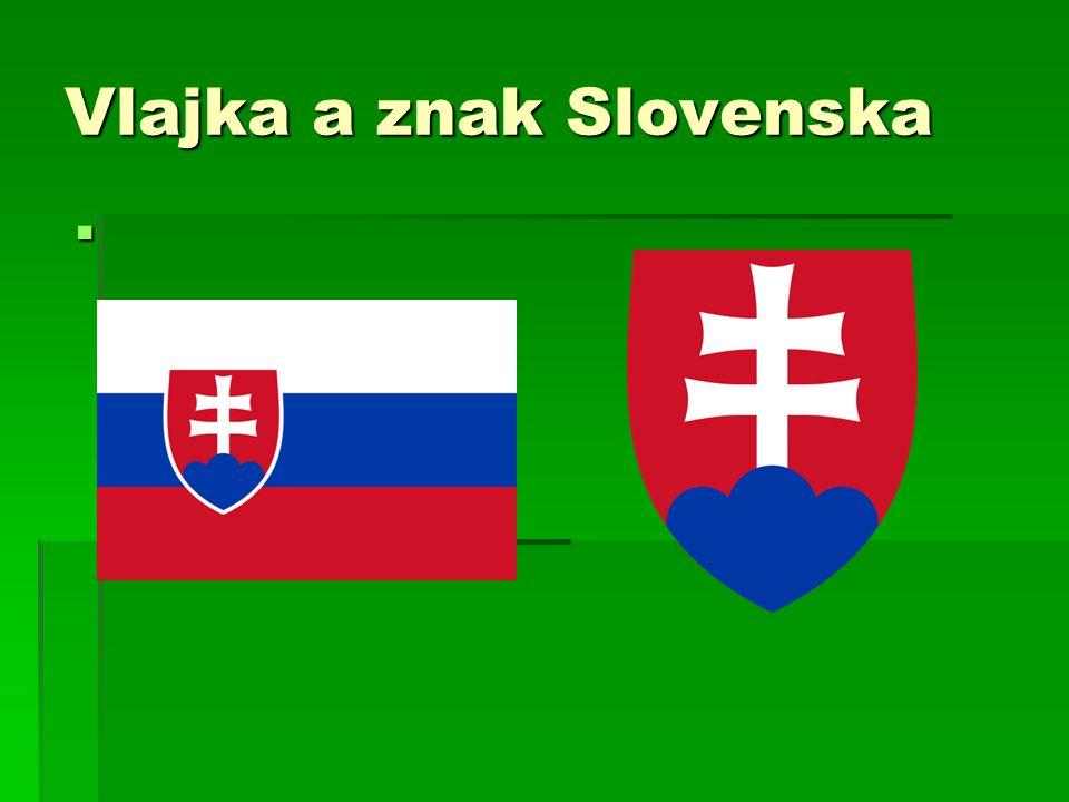 Vlajka a znak Slovenska