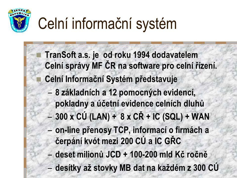Celní informační systém TranSoft a.s.
