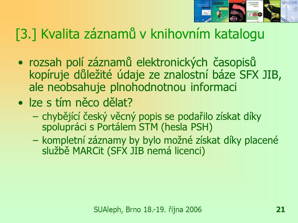 SUAleph, Brno 18.-19.