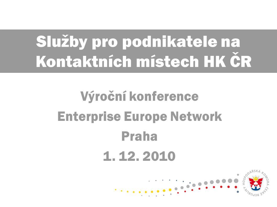 Výroční konference Enterprise Europe Network Praha 1.