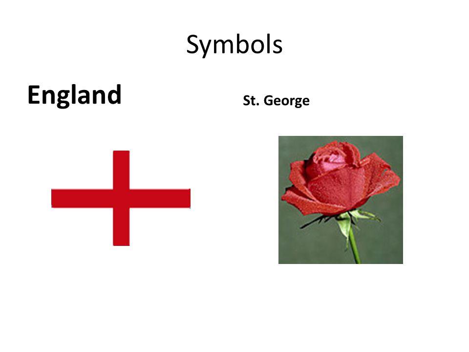 Symbols England St. George