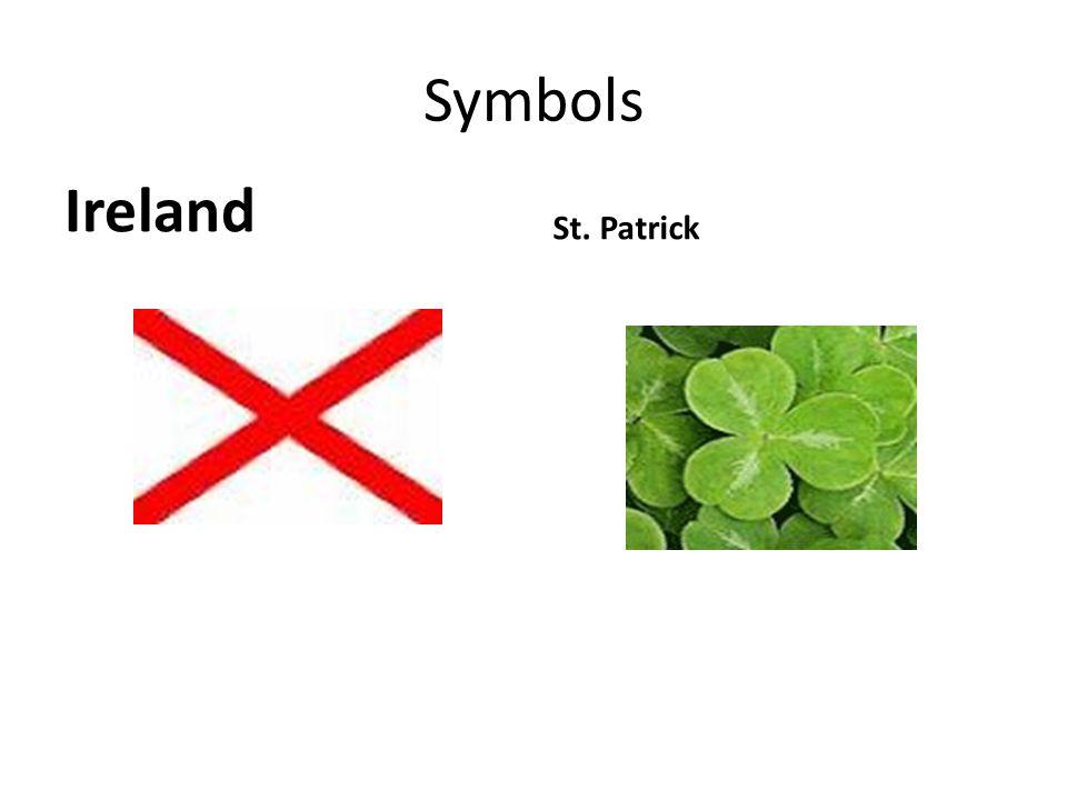Symbols Ireland St. Patrick