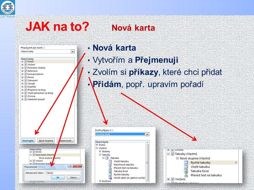 Výsledné nastavení můžeme Exportovat (uložit) třeba na FLASHku a přenést na jiný počítač Přenos na jiný počítač JAK na to?