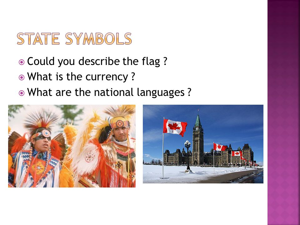  Could you describe the flag ?  What is the currency ?  What are the national languages ?