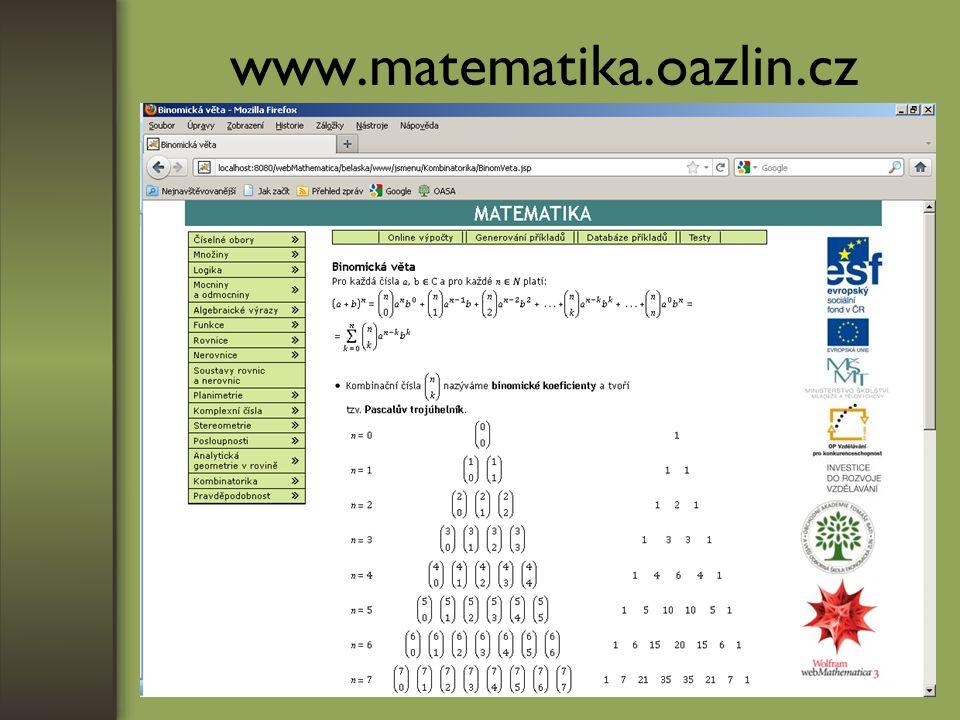 www.matematika.oazlin.cz