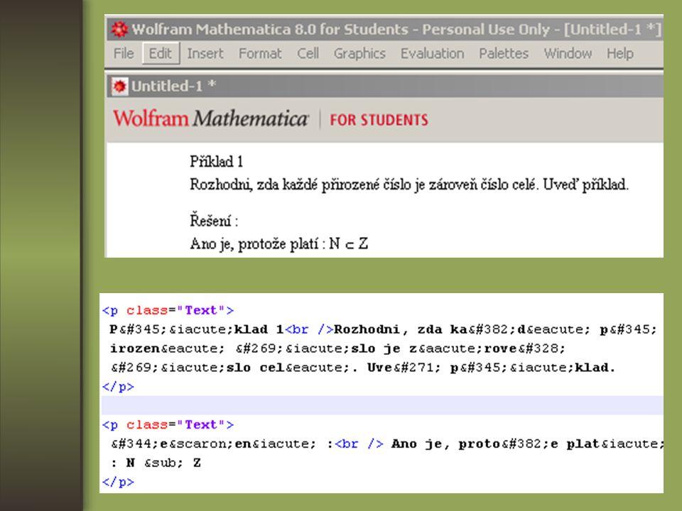 FÁZE V Tvorba webových stránek (JSP) Dobré příklady: http://carolina.mff.cuni.cz/~jana/kombinatorika/ https://dip.felk.cvut.cz/browse/pdfcache/hronej2_2008dipl.pdf