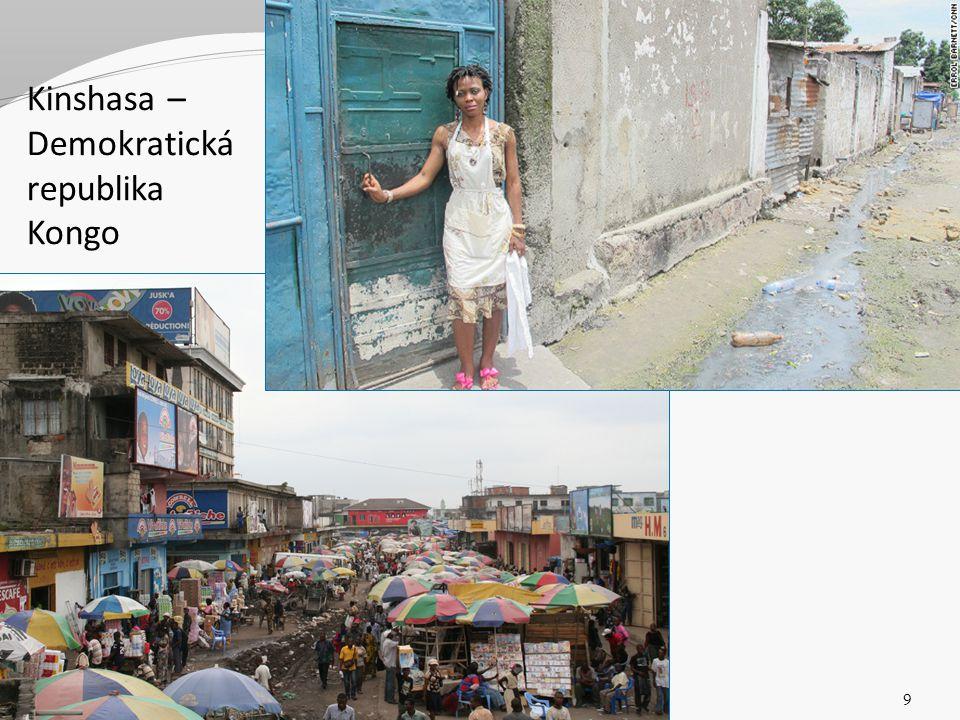 Kinshasa – Demokratická republika Kongo 3 Sociální politika v mezinárodním kontextu. Jabok / ETF 2013. Michael Martinek9