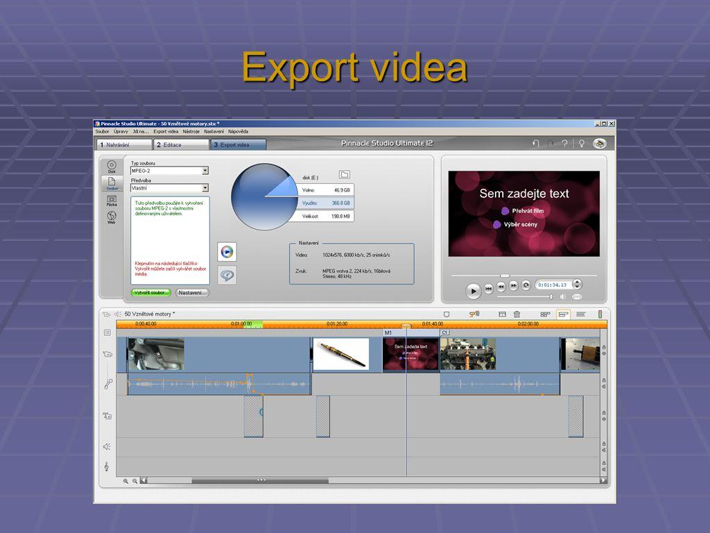 Export videa