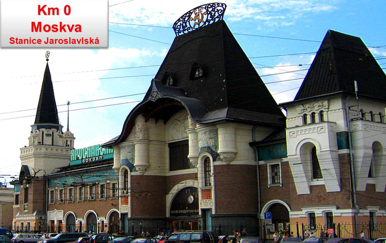 Km 0 Moskva Moskva Stanice Jaroslavlská