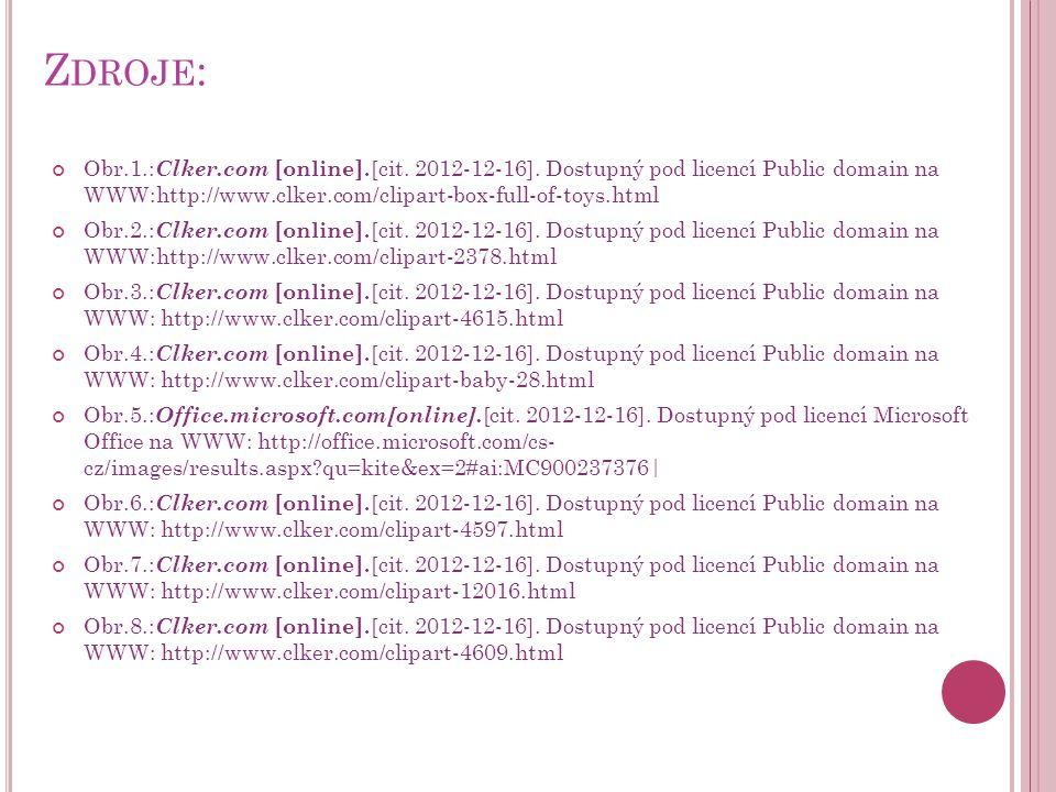 Z DROJE : Obr.1.: Clker.com [online]. [cit. 2012-12-16].