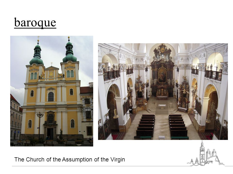 baroque The Church of the Assumption of the Virgin