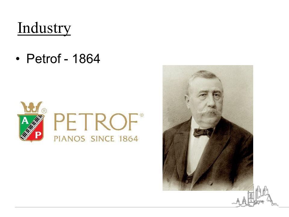 Industry Petrof - 1864