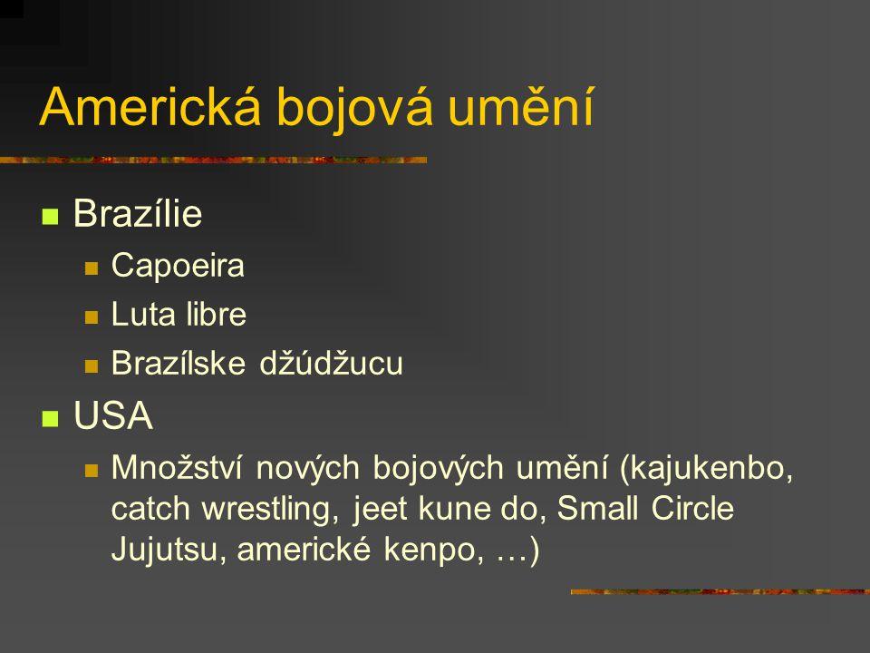 Evropská bojová umění Francie savate, canne de combat Anglie bartitsu, defendu, Westmorland wrestling, Cumberland wrestling, quarterstaff Portugalsko