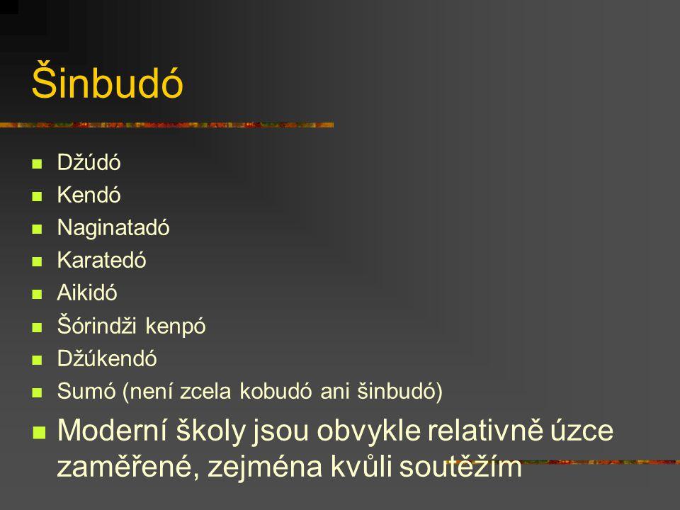 Kobudó – sociální struktura Učideši - vnitřní žák Sotodeši - vnější žák Seipai - starší žák Kohai – mladší žák