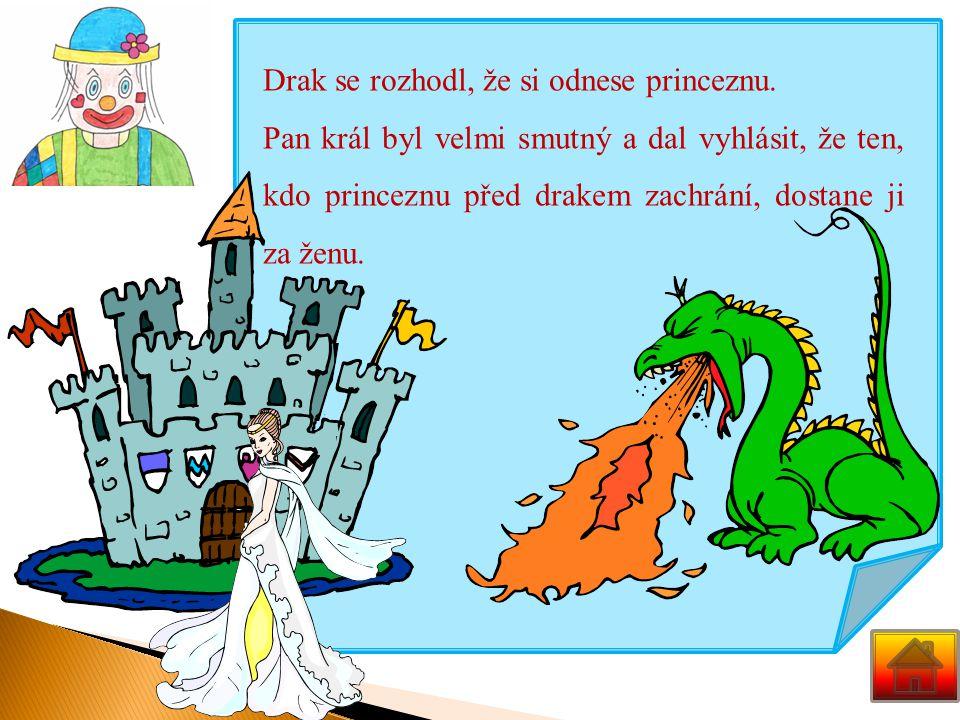 Bylo, nebylo. Takhle začíná mnoho pohádek a tak začíná i ta naše pohádka. Pohádka o jednom království a o drakovi.