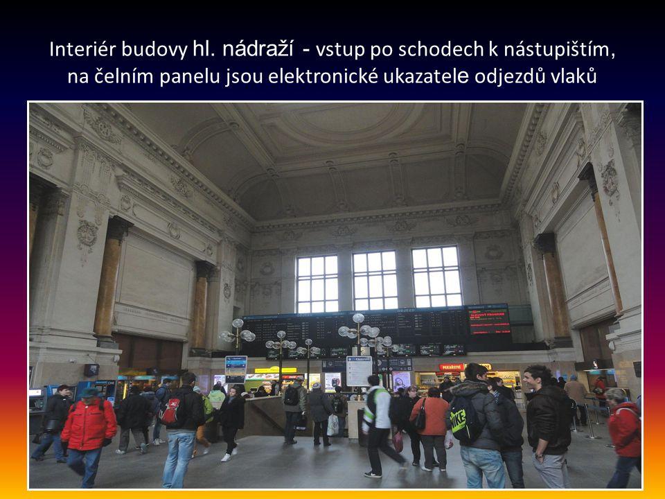 Budova hlavního osobního vlakového nádraží v Brně je v provozu již od r. 1839 a řadí se tak k nejstarším v České republice. Nachází se jižně od centra