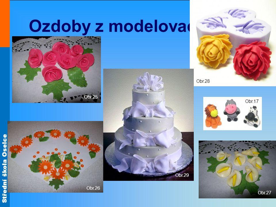 Střední škola Oselce Ozdoby z modelovací hmoty Obr.17 Obr.25 Obr.26 Obr.27 Obr.28 Obr.29