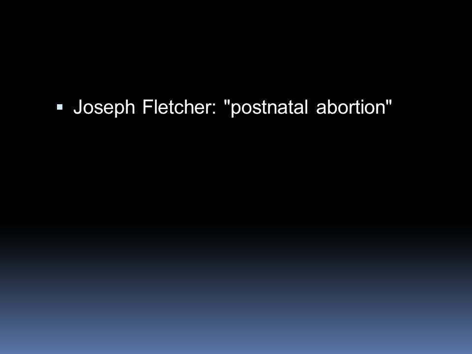 Joseph Fletcher: