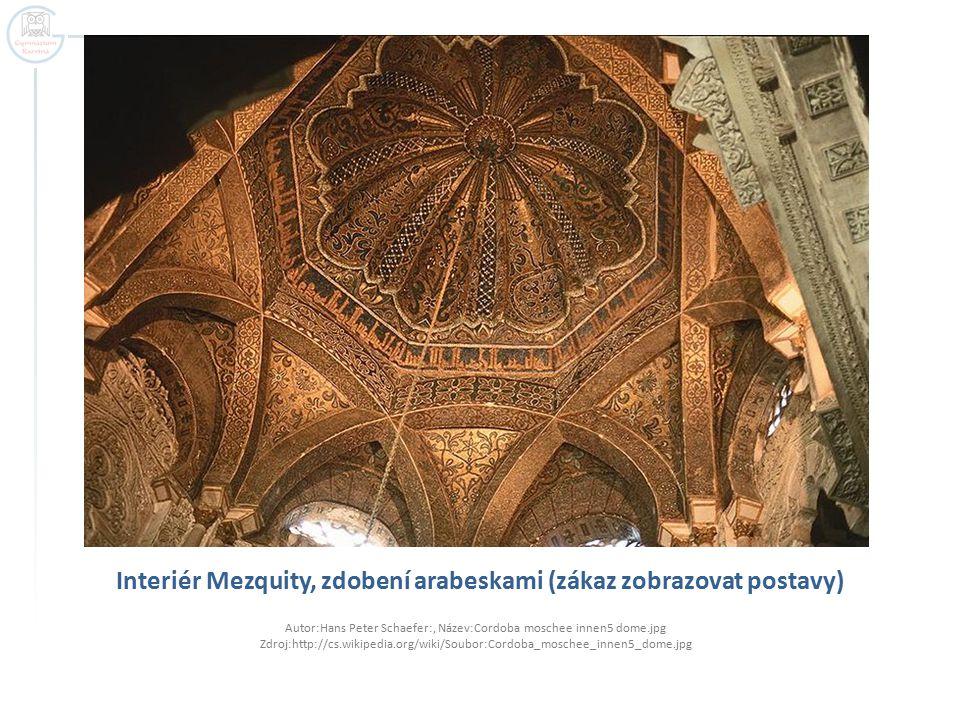 Rozpad Córdobského chalífátu  Córdobský chalífát se roku 1031 rozpadl na malá muslimská království, tzv.
