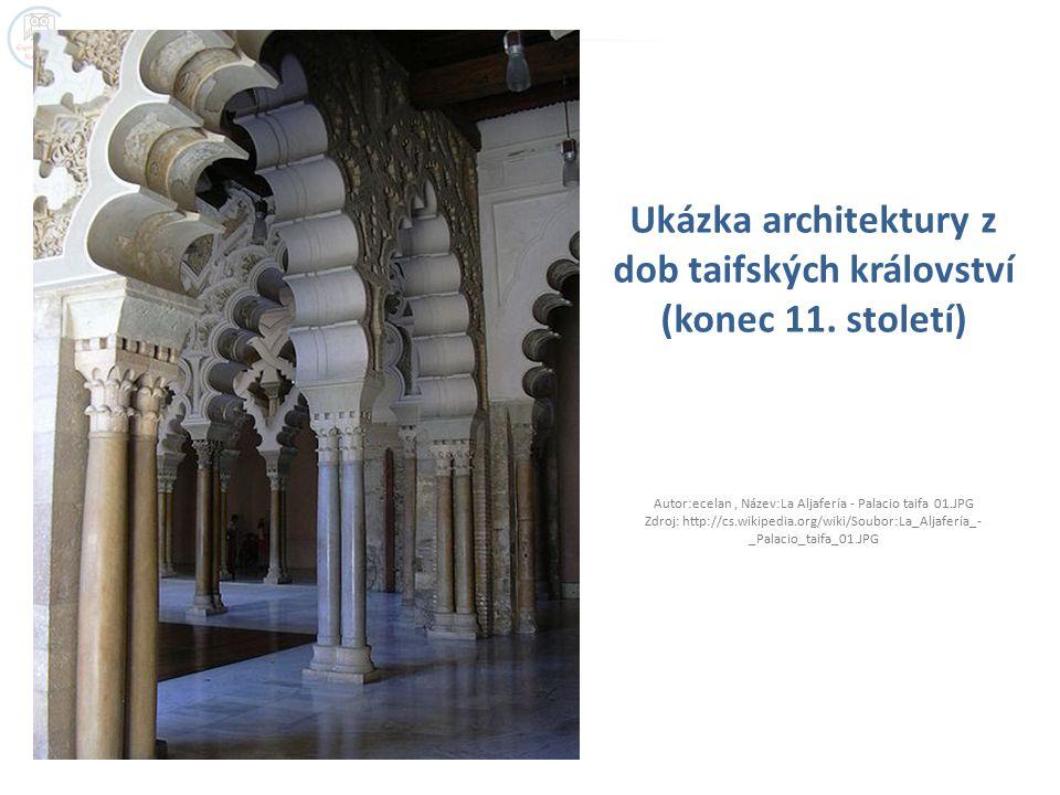 Ukázka architektury z dob taifských království (konec 11.