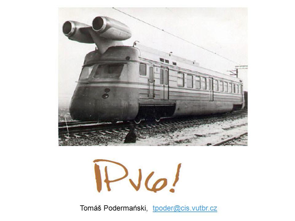 Tomáš Podermański, tpoder@cis.vutbr.cztpoder@cis.vutbr.cz