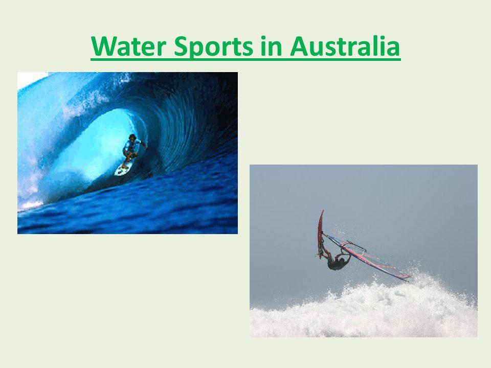 Water Sports in Australia
