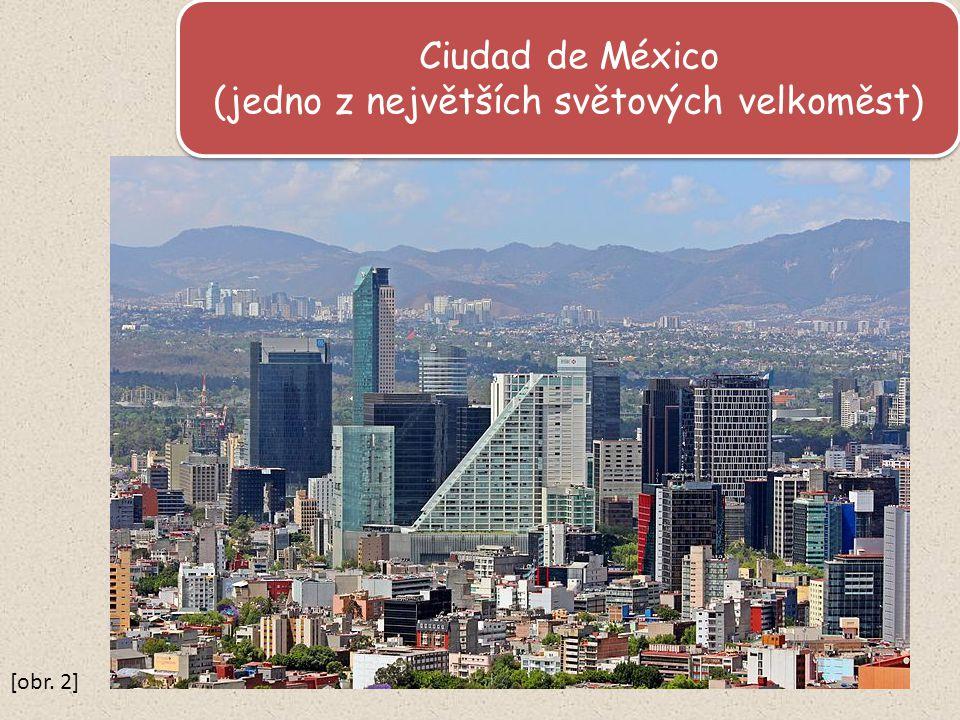 Ciudad de México (jedno z největších světových velkoměst) Ciudad de México (jedno z největších světových velkoměst) [obr.