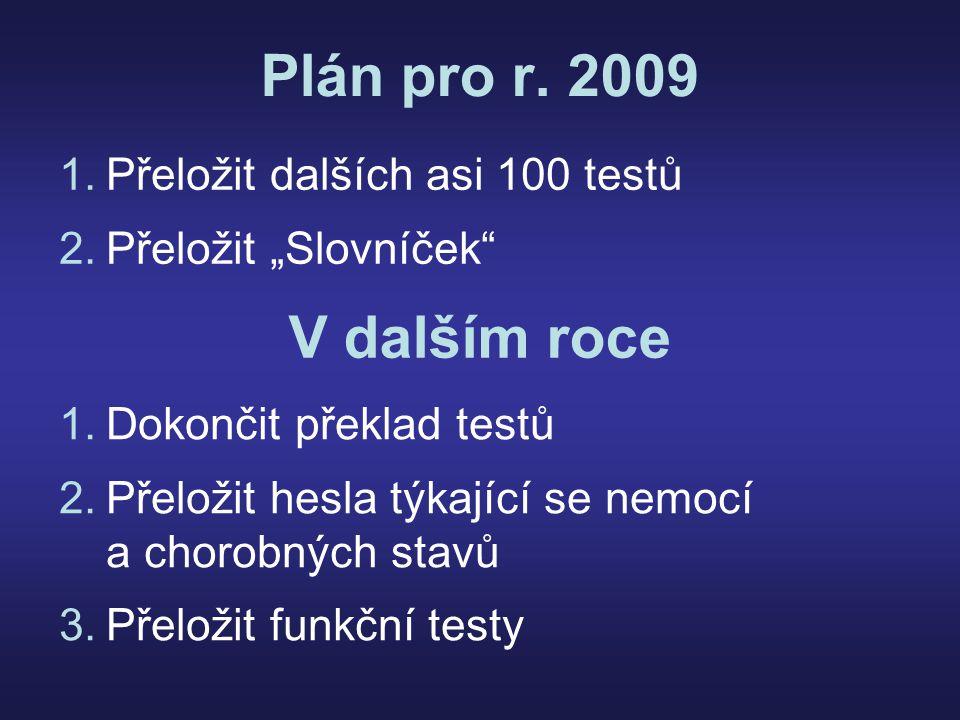 Plán pro r.