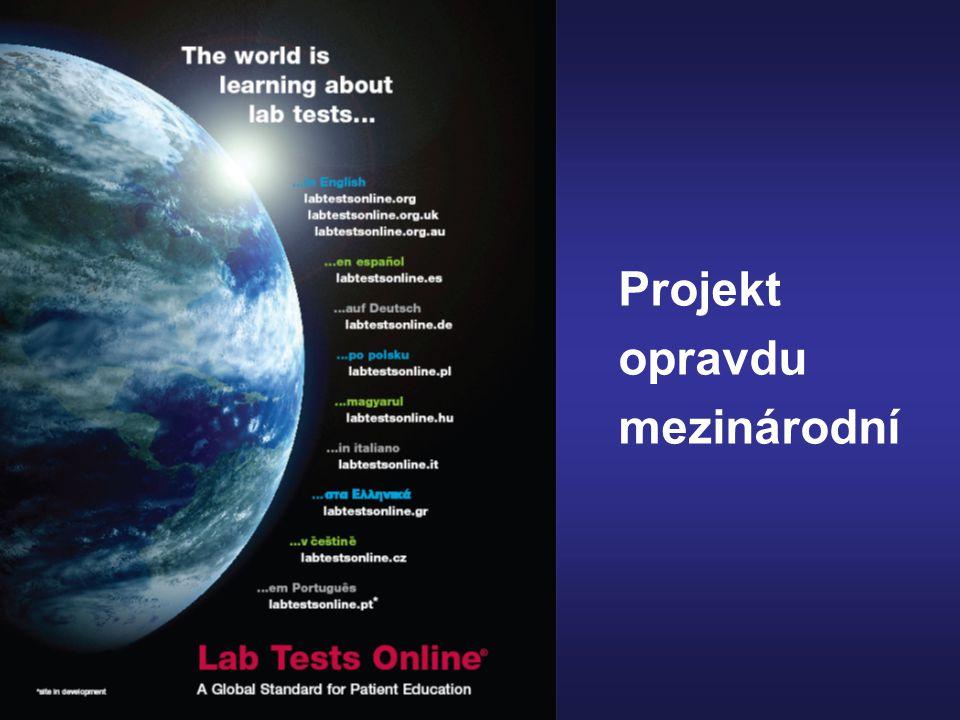 Projekt opravdu mezinárodní