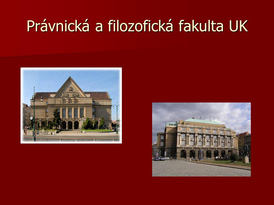 Právnická a filozofická fakulta UK