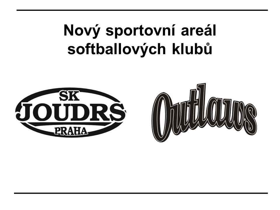 Nový sportovní areál softballových klubů