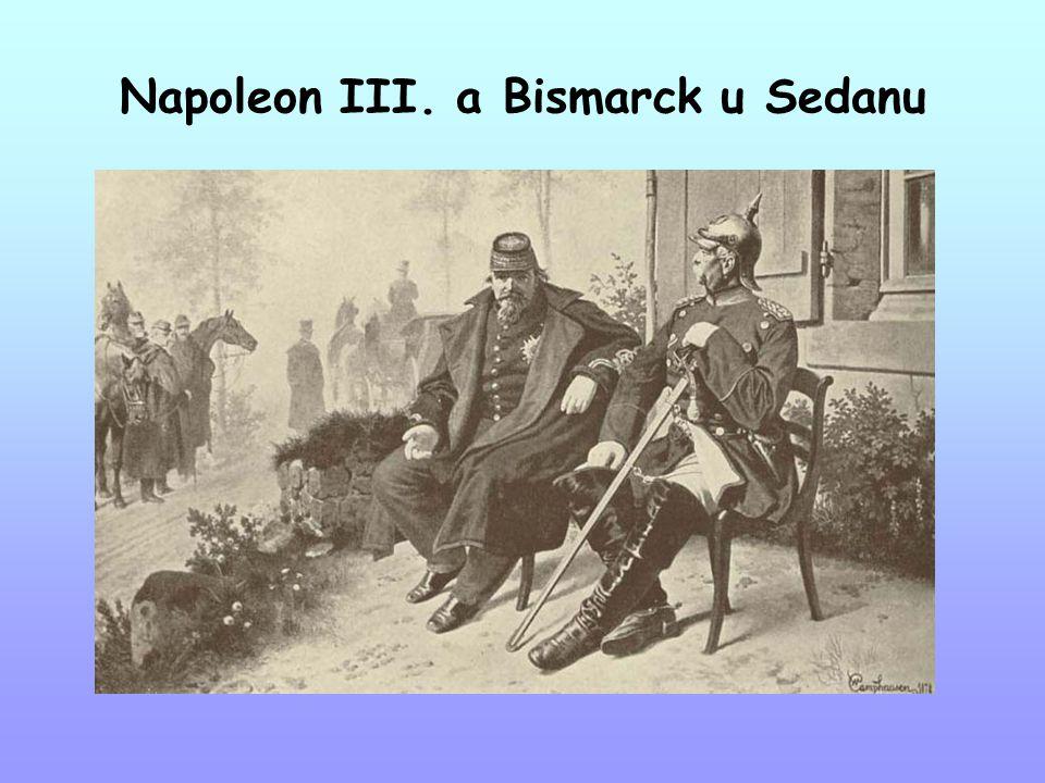 Napoleon III. a Bismarck u Sedanu